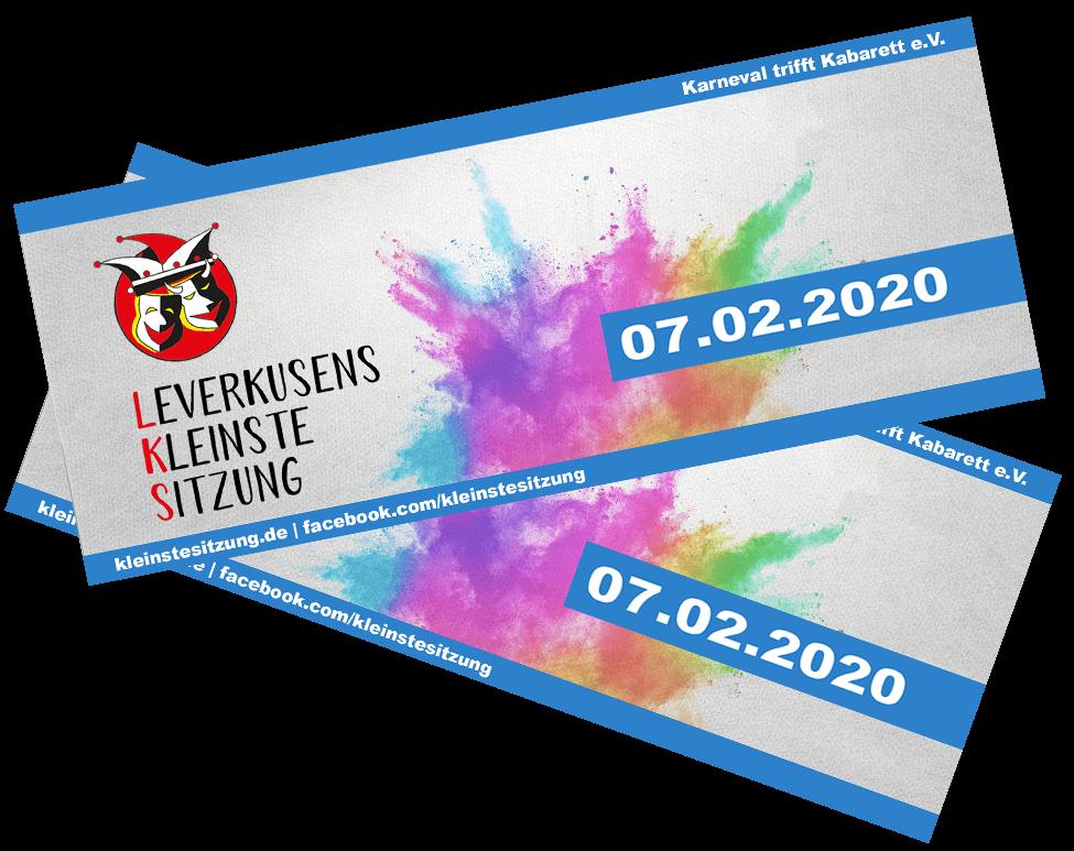 Leverkusens Kleinste Sitzung 2020 Gewinnspiel
